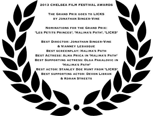 Palmares Chelsea Film Festival